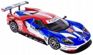 FORD GT 2017 LE MANS #66 MODEL METAL BBURAGO 1:32