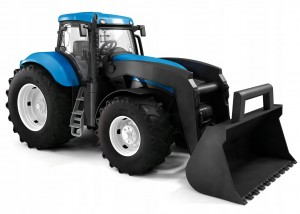 TRAKTOR NEW HOLLAND Z ŁYŻKĄ T7.270 1:16 ADRIATIC !