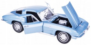 1963 CHEVROLET CORVETTE MODEL METALOWY WELLY 1:24
