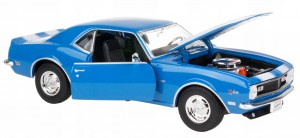 1968 CHEVROLET CAMARO Z28 MODEL METAL WELLY 1:24