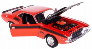 '70 DODGE CHALLENGER T/A MODEL METAL WELLY 1:24 CZ