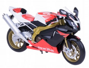 APRILIA RSV 1000R FACTORY MODEL METAL WELLY 1:10