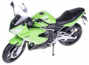 KAWASAKI NINJA 650R MODEL METALOWY WELLY 1:10 NEW!