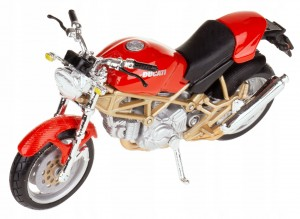 DUCATI MONSTER 900 METAL/PLAST MODEL BBURAGO 1:18