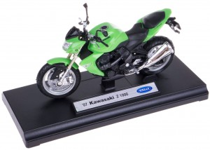 `07 KAWASAKI Z 1000 METALOWY MODEL WELLY 1:18