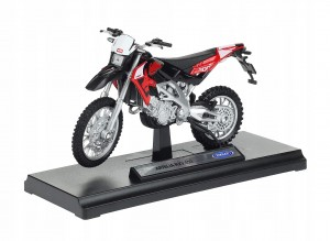 APRILIA RXV 450 MODEL METAL/PLAST WELLY 1:18 CROSS