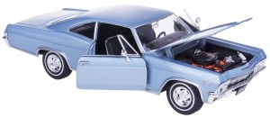 '65 CHEVROLET IMPALA SS 396 MODEL METAL WELLY 1:24