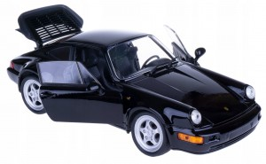 1974 PORSCHE 911 TURBO 3.0 MODEL WELLY 1:24 CZARNY