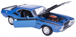 '70 DODGE CHALLENGER T/A MODEL METAL WELLY 1:24