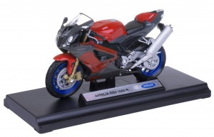 APRILIA RSV 1000 R MODEL METAL WELLY MOTOR 1:18