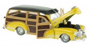 1948 CHEVROLET FLEETMASTER MODEL WELLY 1:24 NEW