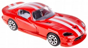 CHRYSLER VIPER GTS MODEL METALOWY BBURAGO 1:43