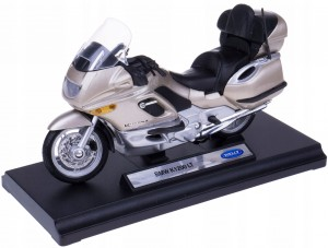 BMW K1200 LT MODEL METAL/PLASTIK WELLY MOTOR 1:18