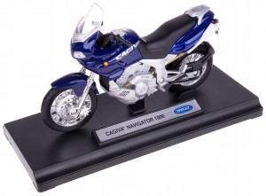 CAGIVA NAVIGATOR 1000 MODEL METAL WELLY MOTOR 1:18
