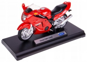 HONDA CBR 1100XX MODEL WELLY MOTOCYKL 1:18