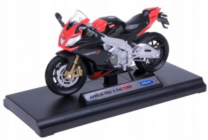 APRILIA RSV 4 FACTORY MODEL WELLY MOTOR 1:18