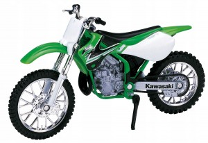 KAWASAKI KX 250 `02 MODEL METAL WELLY MOTOR 1:18