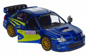 SUBARU IMPREZA WRC 2007 MODEL METALOWY 1:36 NEW!!!