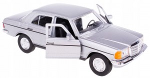 MERCEDES-BENZ W123 BECZKA MODEL METAL WELLY 1:34