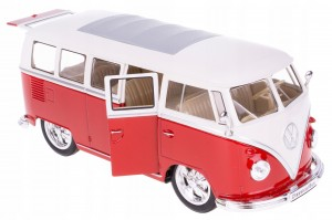 1963 VOLKSWAGEN TUNING BUS T1 MODEL WELLY 1:24