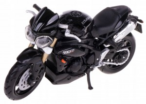 TRIUMPH SPEED TRIPLE 2011 MODEL METAL BBURAGO 1:18