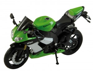 KAWASAKI NINJA ZX-10R MODEL WELLY MOTOR 1:18